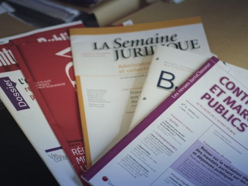 Articles droit public - Chamming's Avocats - Avocat droit public à Bordeaux-  Publications droit public -  Publications droit public
